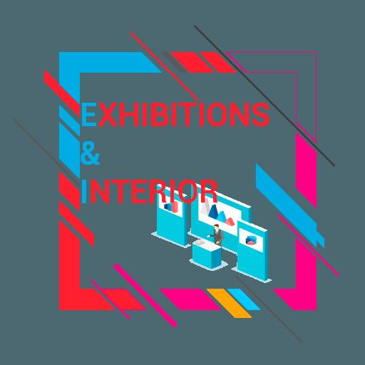 Перечень услуг по Проектированию и производству интерьеров, а так же выставочных площадей